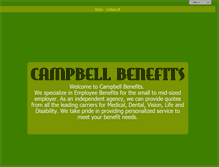 Tablet Preview of campbellbenefits.net